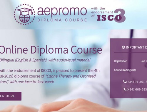 THE INTERMEDIATE MODULE OF THE LONG DISTANCE DIPLOMA COURSE OF OZONE THERAPY BEGINS