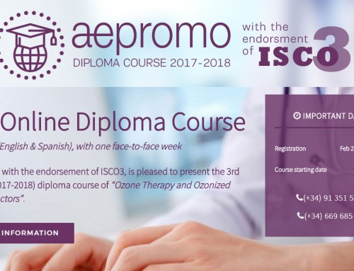 Successfully finished 3rd. Online and Bilingual (English & Spanish) Diploma Course of Ozone Therapy with a Face-to-Face Week