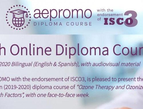 Fifth Online and bilingual (English & Spanish) Diploma Course of Ozone Therapy