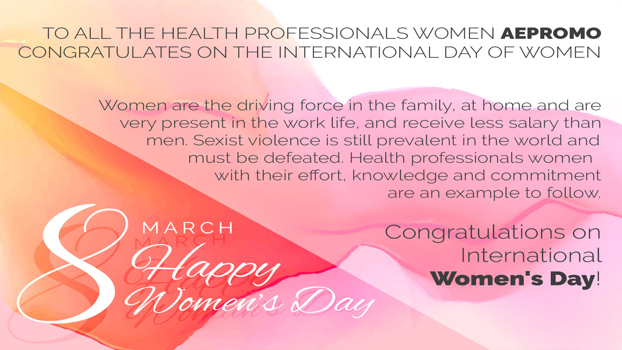 Congratulations International Women's Day! March 8, 2017