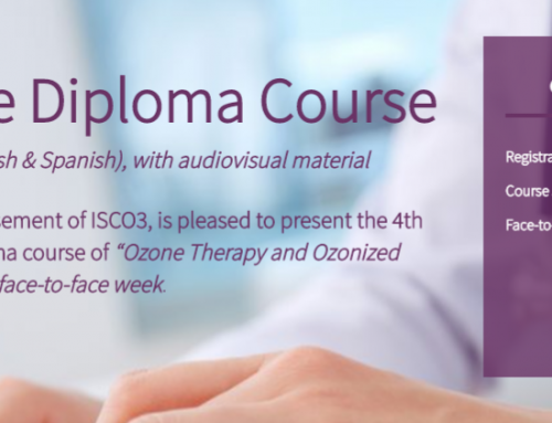 Concluded the Advance Module of the 4th distance diploma course of ozone therapy