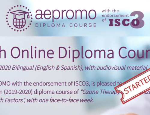THE 5th ONLINE DIPLOMA COURSE OF OZONE THERAPY AND GROWTH FACTORS (2019-2020) BEGAN