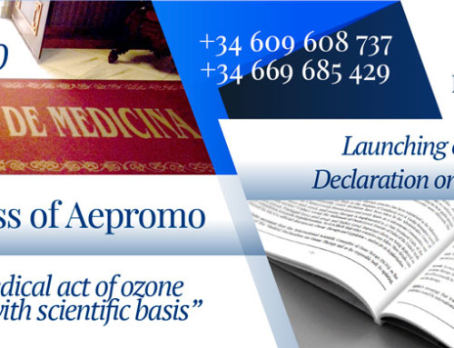 6th International Congress of Aepromo and Launching of the 3rd edition of the Madrid Declaration on Ozone Therapy. Update made by ISCO3