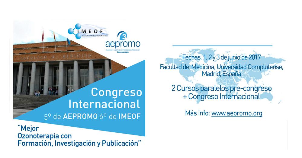 Premios a las mejores Ponencias del 5º Congreso Internacional de AEPROMO y 6º de IMEOF