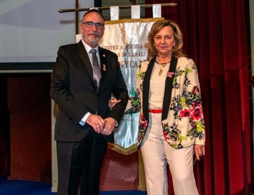 Medalla del Mérito Sanitario al Dr. Francisco Pedro García López, miembro de Aepromo
