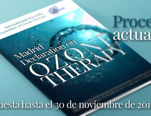 ACTUALIZACIÓN DE LA DECLARACIÓN DE MADRID SOBRE LA OZONOTERAPIA