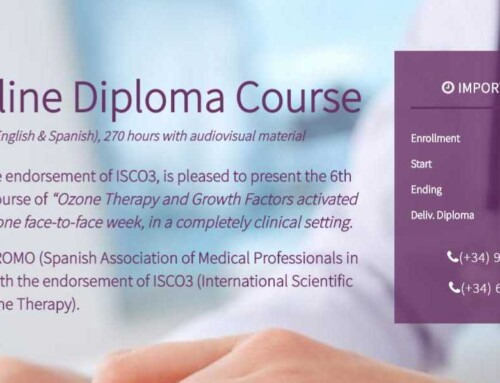 THE SEVEN MONTHS OF THE 6TH INTEGRALLY ONLINE OZONE THERAPY DIPLOMA COURSE BEGAN (2020-2021)