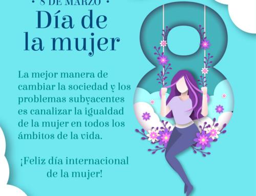8 de marzo: ¡Feliz día internacional de la mujer!