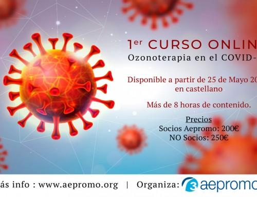 1er Curso Online «Ozonoterapia en el COVID-19» en castellano