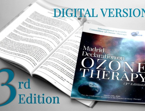 Madrid Declaration on Ozone Therapy  ISCO3, 3rd edition, 2020, 103 pages