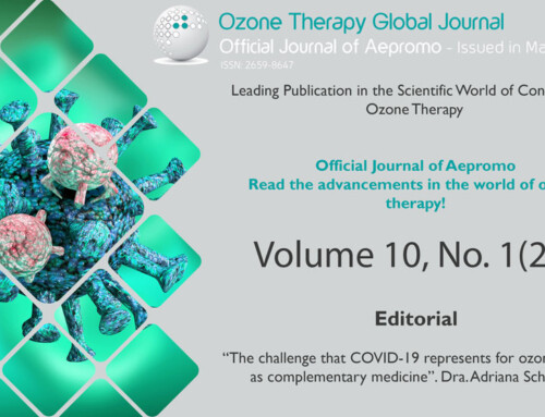 NEW ISSUE OF OZONE THERAPY GLOBAL JOURNAL