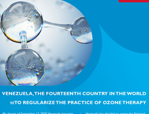 VENEZUELA, THE FOURTEENTH COUNTRY IN THE WORLD TO REGULARIZE THE PRACTICE OF OZONE THERAPY