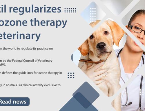 Brazil regularizes the ozone therapy in veterinary