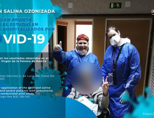 Publicado en revista científica el estudio de la Solución Salina Ozonizada en pacientes hospitalizados por COVID-19