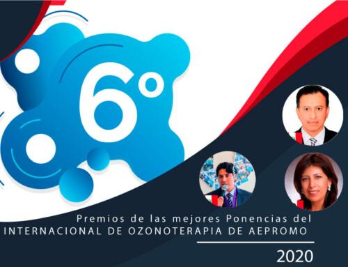 Premios a las Mejores Ponencias  del  6º Congreso Internacional de AEPROMO  Congreso totalmente online celebrado el 14-15 Noviembre 2020