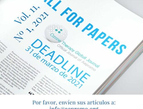 Solicitud de envío de artículos para Ozone Therapy Global Journal