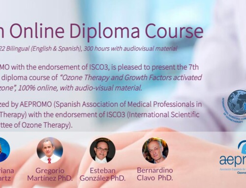 8TH OZONE THERAPY DIPLOMA COURSE (2021-2022) TOTALLY ON LINE